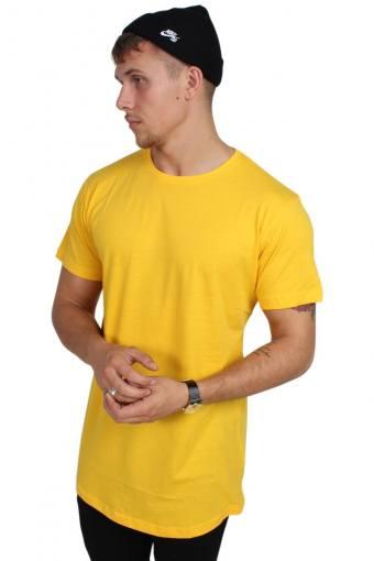 Klokkeban Classics TB638 T-shirt Chrome Yellow