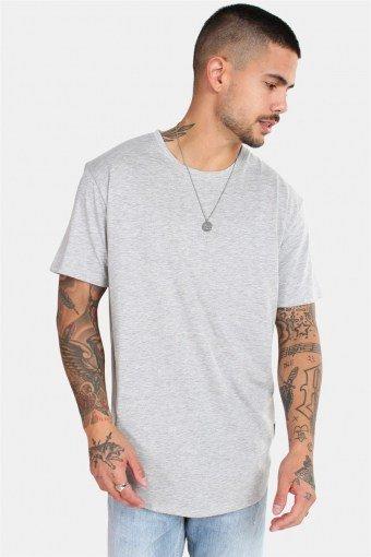 Matt Longy SS T-skjorte Noos Light Grey Mel