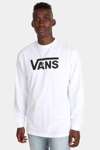 Classic LS T-skjorte White/Black