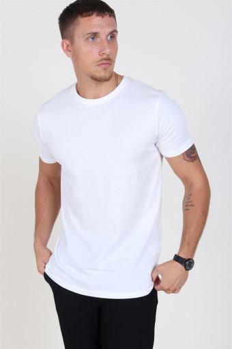 Rock S/S Organic T-skjorte White