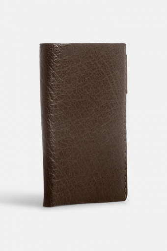 Thunder Credit Card Wallet Brown