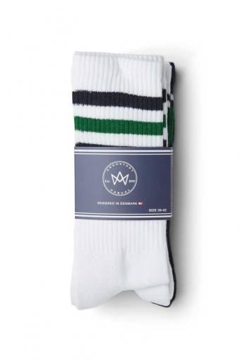 Nad 4-pack socks White/Navy/Green