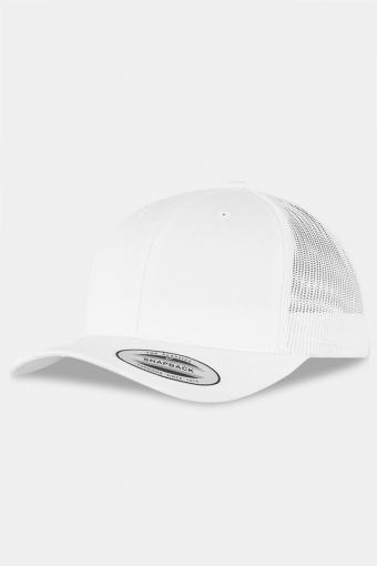 Flexfit Retro Trucker Caps White