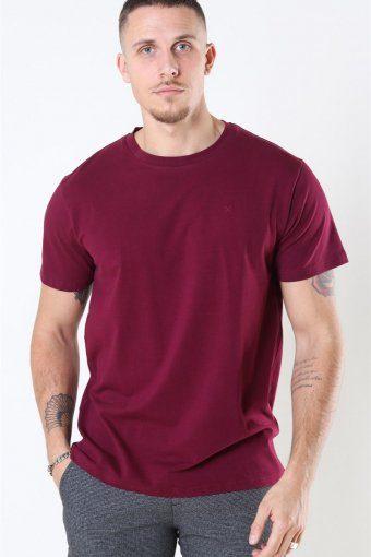 Miami Stretch T-shirt Bordeaux