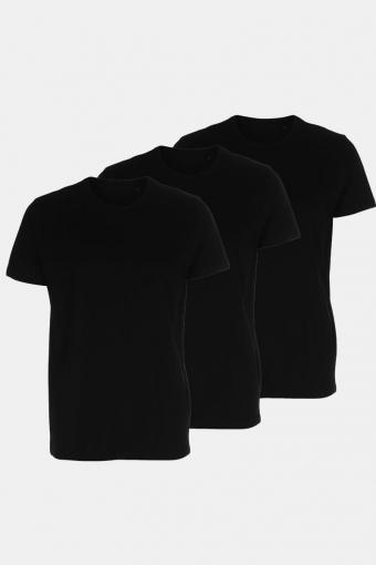 3 Pack T-Shirts Black