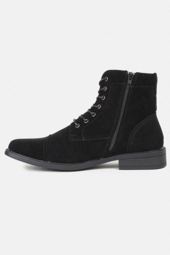 Boots Semsket Black