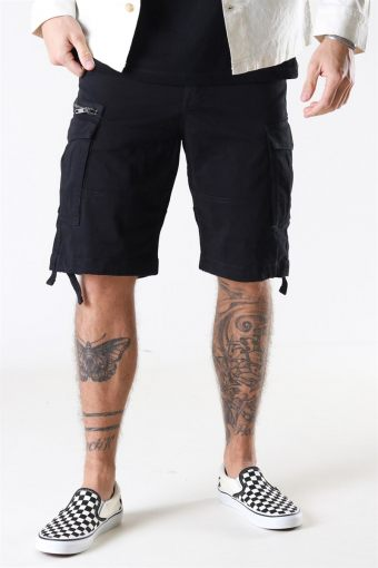 Jack and Jones Chop Cargo Shorts Black