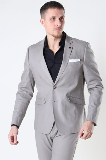 Copenhagen Cotton Linen Blazer Grey