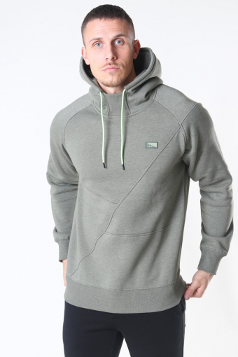 Jack & Jones Ponn Sweat Hoodie Depp Lichen Green