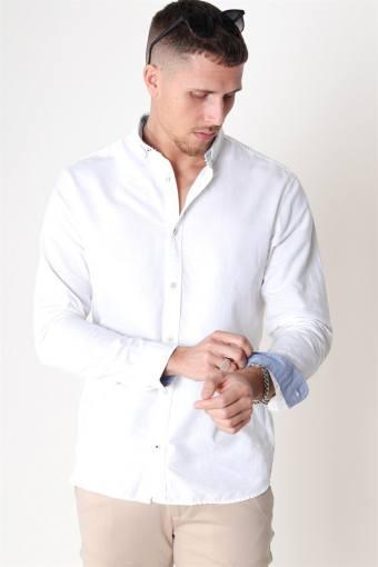 Summer Skjorte L/S White