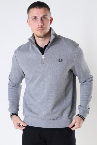Half Zip  Sweatshirt Steel Marl