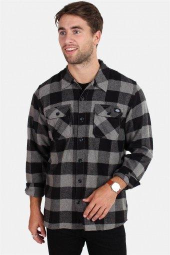 Sacramento Skjorte Grey Melange