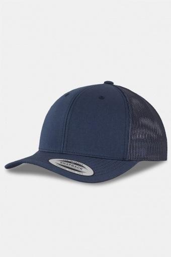 Flexfit Retro Trucker Caps Navy