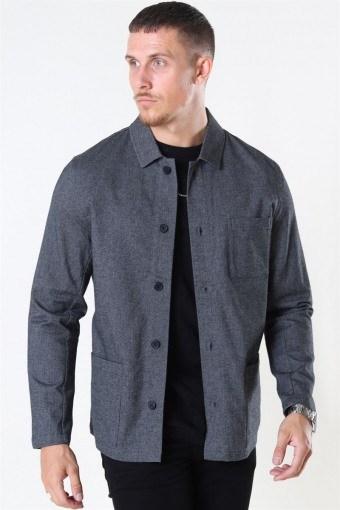 Lake StructKlokkee Shirt LS Dark Grey
