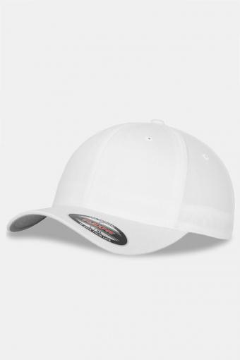Flexfit Wooly Combed Original Caps White