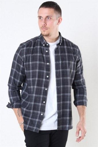 Clean Cut Sälen Flannel 3 Skjorte Antrasit