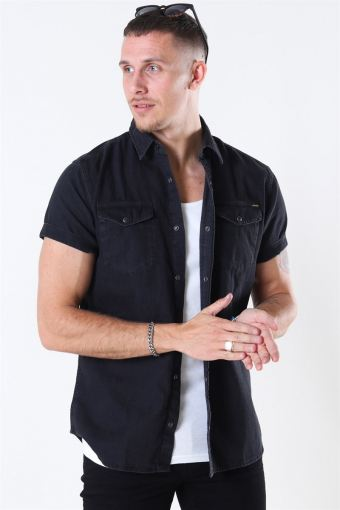 Sheridan Skjorte S/S Black Denim