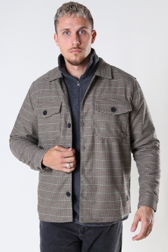 Clipper Vichy LS Shirt Beige Check
