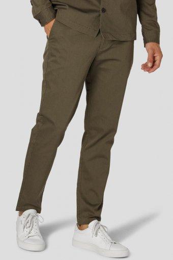 Milano Tristan Stretch Pants Army/Dark Grey