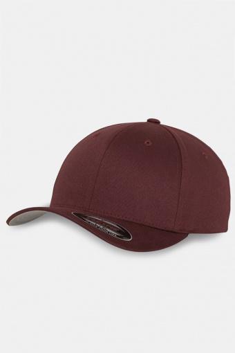 Flexfit Wooly Combed Original Caps Maroon