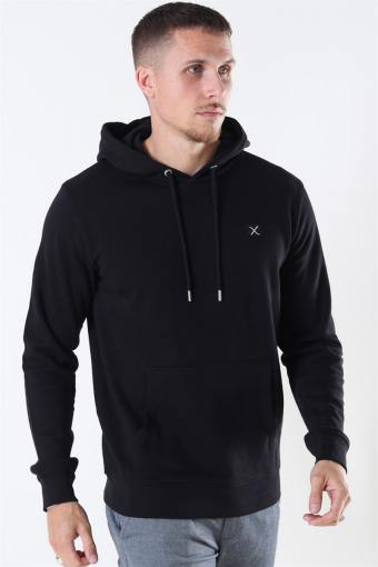 Clean Cut Basic Organic Hoodie Black