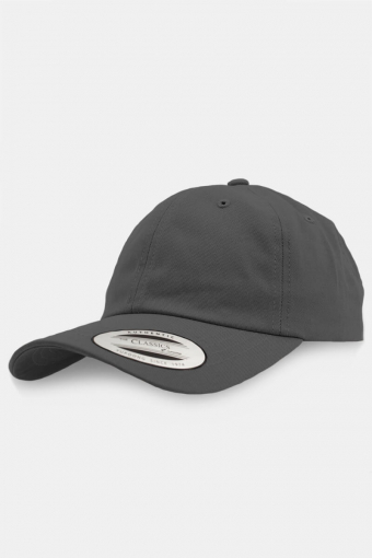Flexfit Low Profile Cotton Twill Baseball Caps Silver