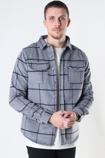 DP indiana overshirt 107 Grey check