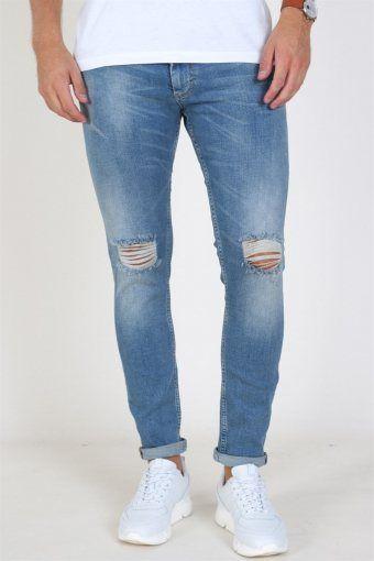 Max Jeans Premium Blue Holes