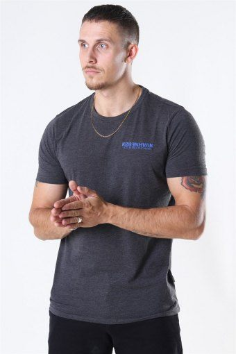 Matti SS T-Shirt Med Grey