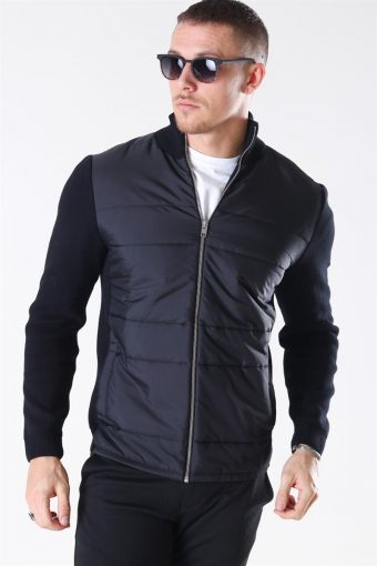 Jack & Jones Sulphur Strikke Cardigan Black