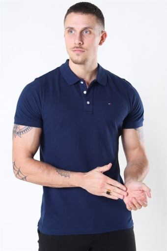 Tommy Jeans Original Fine Pique Polo SS Navy Men