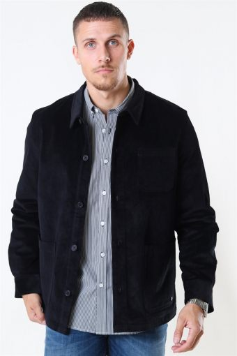 Clean Cut Steve Overshirt Black