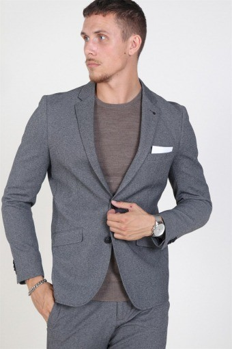 Daze Jersey Blazer Light Grey Melange