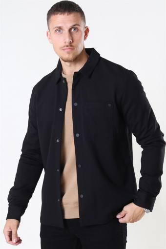 Alexander Overshirt LS Black