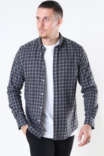 Clean Cut Sälen Flannel 2 Skjorte Antrasit