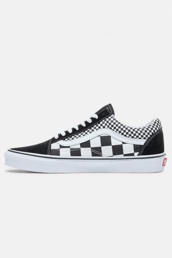 Old Skool Mix Checker Sneakers Black/True