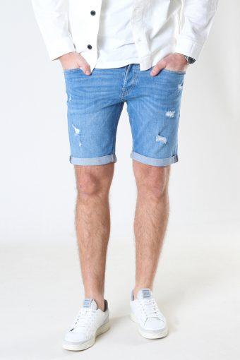 Jjirick Jjoriginal Shorts Agi 022 Blue Denim
