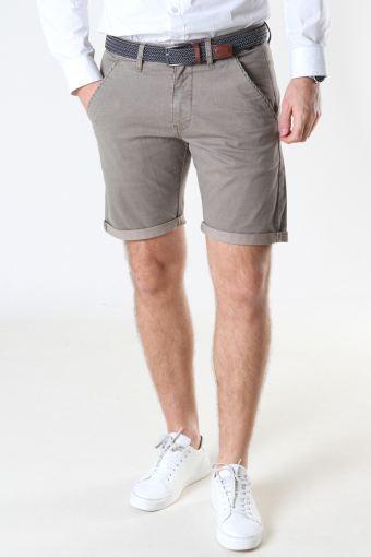 Louis Greige Shorts inkl. Belte