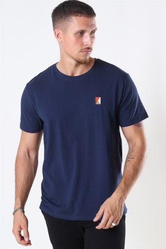 Clean Cut Colin Stretch Tee SS Navy