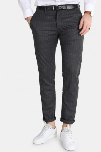 Jones Chino Grey Pinstripe