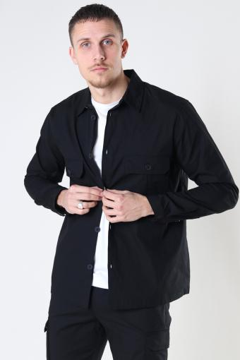 Copenhagen Ripstop Stretch Overshirt Black