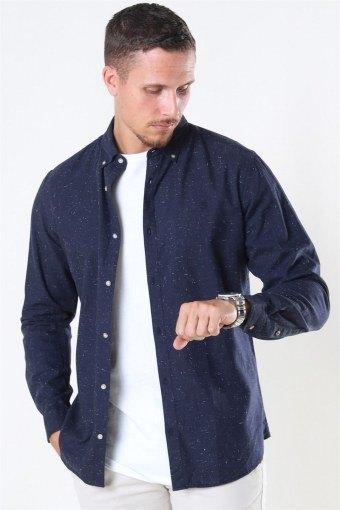 Blalogo Autumn Skjorte L/S Navy Blazer