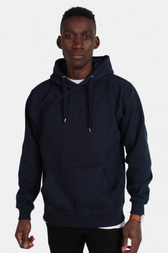 Hooded Genser Blue Navy