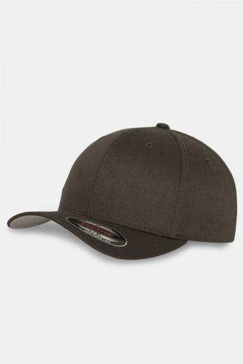 Flexfit Wooly Combed Original Caps Brown