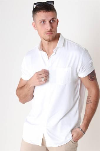 Viscose Skjorte White
