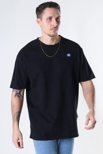 Martin Recycled cotton boxfit t-shirt Black