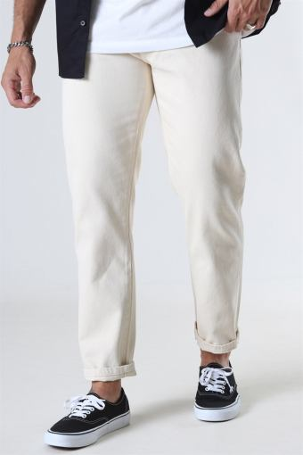 Doc Twill Pants Off White