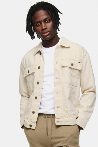ONSDALTON LIFE DENIM JACKET PK 8574 Raw Cotton