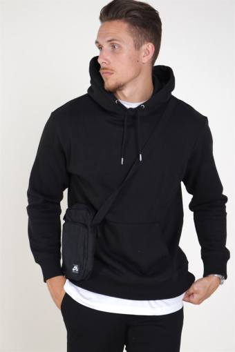 Jack & Jones Soft Genser Hood Black