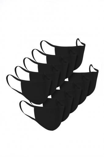 Munnstykke 10-Pack Black